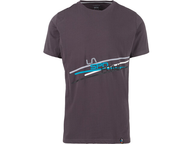 La Sportiva Stripe 2.0 T-Shirt Homme, carbon/cloud